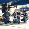 On Locaiton with the Blue Angels