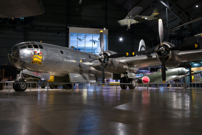 "Bockscar was the B-29 that dropped the ""Fat Man"" atomic bomb on Nagasaki."