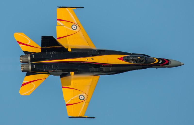 RCAF CF-18 2016 Demo Jet
