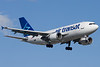 Air Transat Airbus A310 on final for 24R.