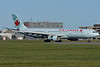 Air Canada's A330 deploying reversers when arriving at Montreal.