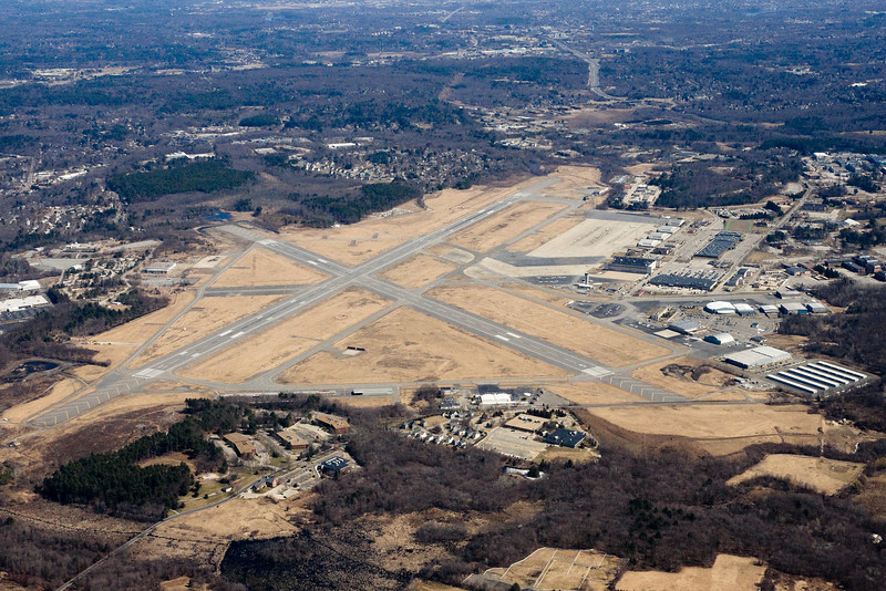 Another angle of Hanscom field in Bedford.