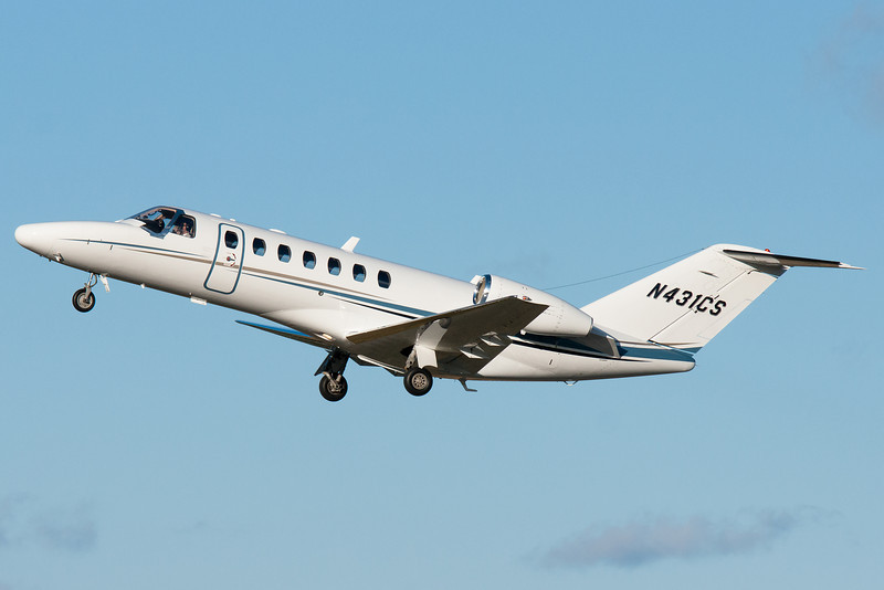 This Cessna rocketed out of Albany.