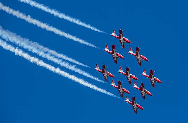 RCAF Snowbirds Big Diamond