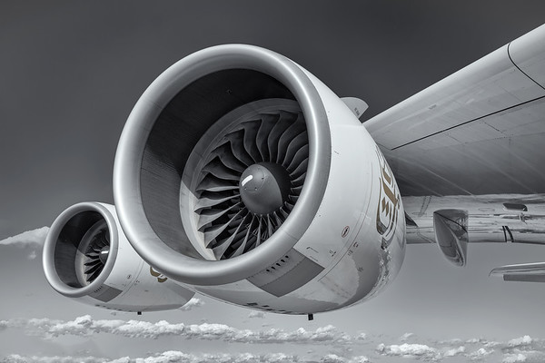 A380 Engine 3 and 4