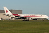 Air Algerie A330 slowing down on runway 24R at Montreal.