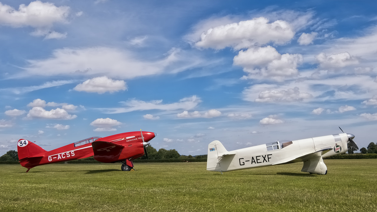 1930's Racing aircraft