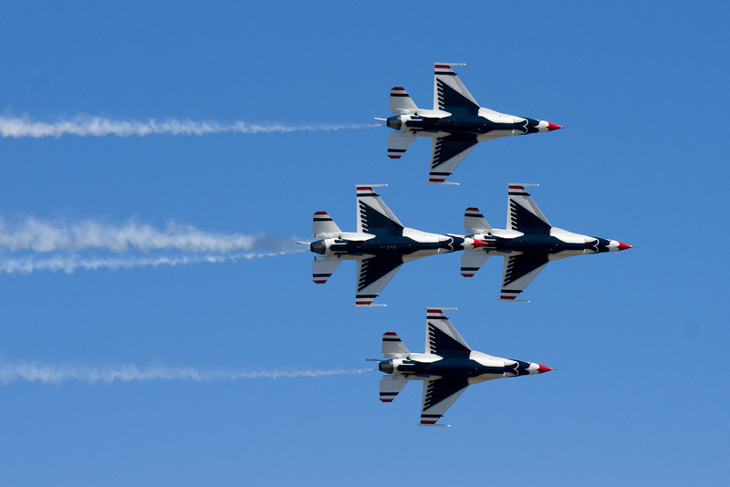 The Thunderbirds.