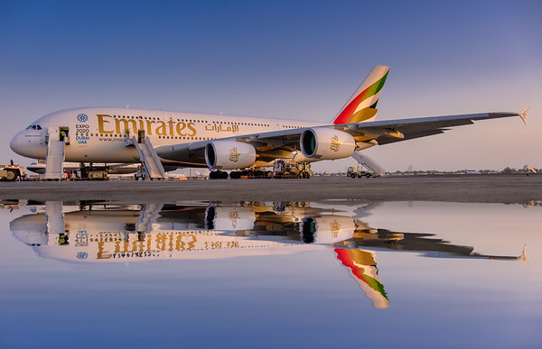 Reflecting on the Airbus A380