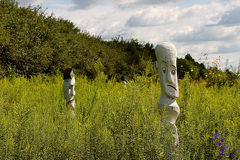 """Sculptures and Prairie Grass""<br /> <br /> POTD - Still Life Category - 09/15/2007 -  <a href=""http://www.digitalphotonut.com"">http://www.digitalphotonut.com</a>"