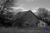 """Black and White Barn""<br /> <br /> POTD - Black&White Category - 12/20/2006 -  <a href=""http://www.digitalphotonut.com"">http://www.digitalphotonut.com</a>"