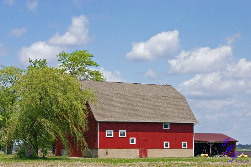 """Red Barn in Spring""<br /> <br /> POTD - Open Category - 05/19/2006 -  <a href=""http://www.digitalphotonut.com"">http://www.digitalphotonut.com</a>"