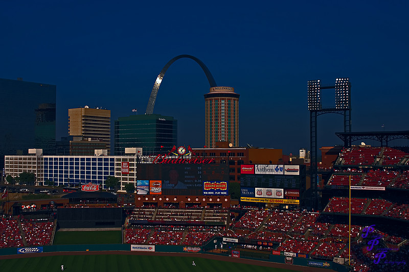 """""""Night Baseball""""<br /> <br /> This was actually a day game...<br /> <br /> POTD - Cityscapes Category - 9/29/2006 -  <a href=""""http://www.photoshowdown.com"""">http://www.photoshowdown.com</a>"""