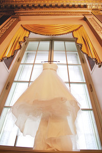 Le Cape Weddings - Chicago Cultural Center Weddings - Kaylin and John - 01 Dress and Pretty Details 4