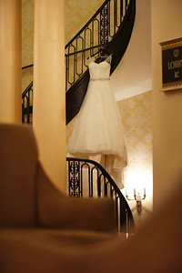 Le Cape Weddings - Chicago Cultural Center Weddings - Kaylin and John - 01 Dress and Pretty Details 2