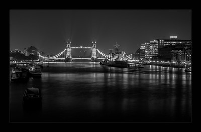 Tower Bridge at Midnight