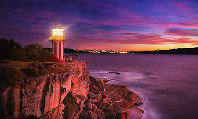 Horny Lighthouse Sunrise