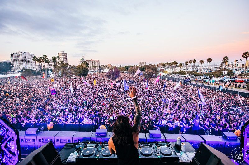 Seven Lions Team kicks off The Alchemy Tour in Long Beach, California 8.17.2019