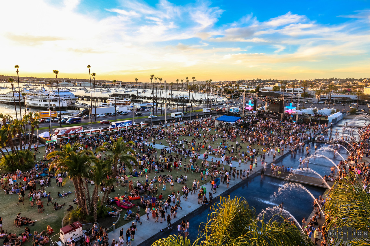 FNGRS CRSSD BRINGS THE FIRST EVER CRSSD FESTIVAL TO DOWNTOWN SAN DIEGO 03.14.2015