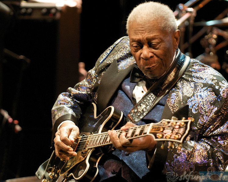 BB KING, BOUDER THEATER 2012