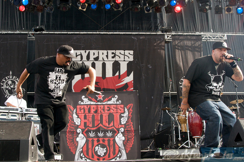 CYPRESS HILL: Performing at Mile High Music Festival, Sat 8/14/2010