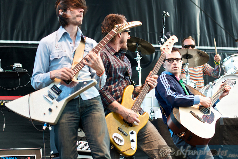 WEEZER: Performing at Mile High Music Festival, Sun. 8/15/2010