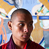 MONGAR DZONG. MONK TSHERING WANGCHUCK (23 YO). EAST BHUTAN. [2]