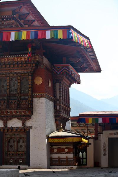 PUNAKHA DZONG. BHUTAN.