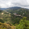VIEW AT TRONGSA. CENTRAL BHUTAN. [2]
