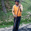 BHUTAN. BUMTHANG. INDIAN ROAD WORKERS.