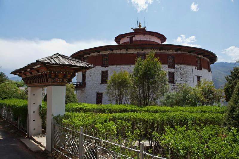 PARO RINPUN DZONG. WATCHTOWER. PARO. BHUTAN. [2]