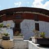 PARO RINPUN DZONG. WATCHTOWER. PARO. BHUTAN.
