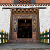 PARO RINPUN DZONG. ENTRANCE GATE.
