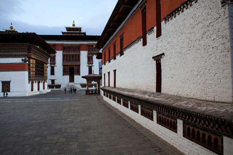 THIMPHU. TRASHI CHHOE DZONG. BHUTAN.