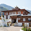 DRAMETSE GOEMBA MONASTERY WITH MONKS SCHOOL. EAST BHUTAN. [5]