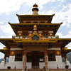 PUNAKHA. KHAMSUM YUELLEY NAMGYAL CHORTEN. TEMPLE DEDICATED TO THE KING.