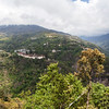 VIEW AT TRONGSA. CENTRAL BHUTAN.