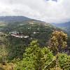 VIEW AT TRONGSA. CENTRAL BHUTAN.