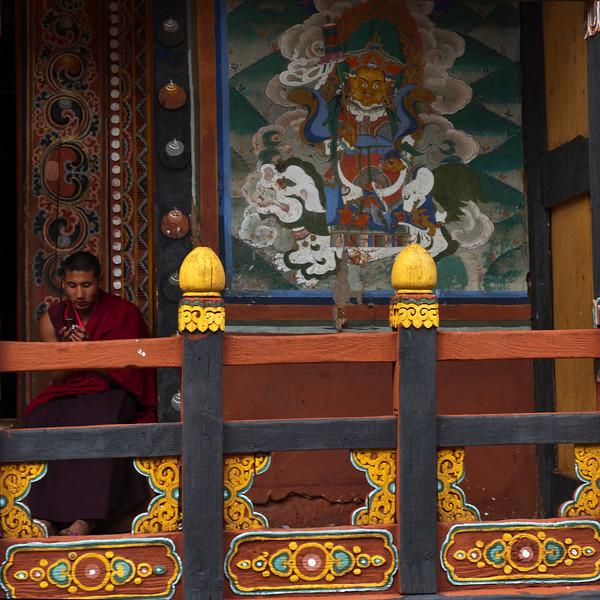 PARO RINPUN DZONG. PARO. BHUTAN.