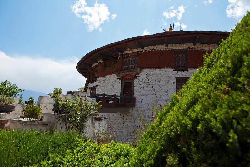 PARO RINPUN DZONG. WATCHTOWER. PARO. BHUTAN. [3]