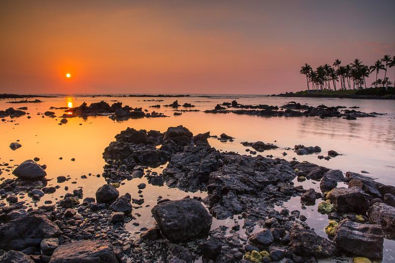 Sunset in Waikoloa