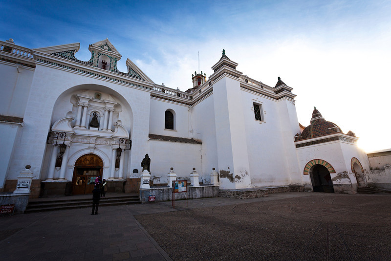 COPACABANA. BASILICA OF OUR LADY OF COPACABANA. BOLIVIA.[2]
