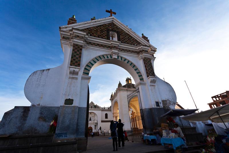 COPACABANA. CATHEDRAL. BOLIVIA.