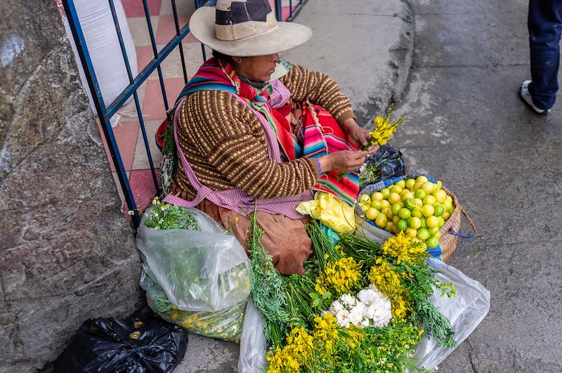 LA PAZ. BOLIVIA.