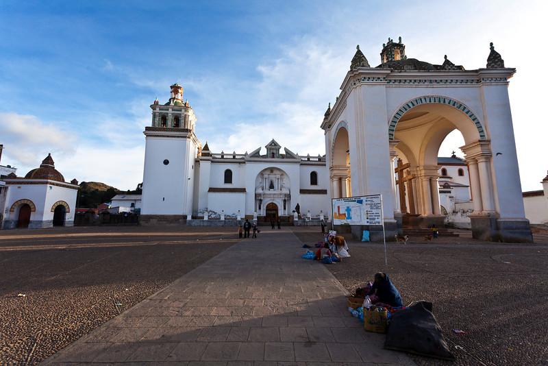 COPACABANA. BASILICA OF OUR LADY OF COPACABANA. BOLIVIA. [6]