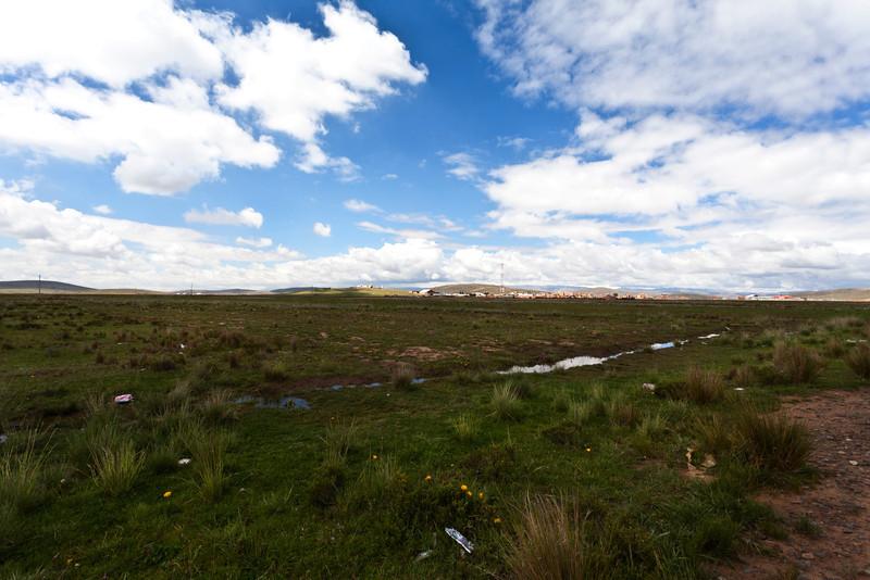 PLANO ALTO. BOLIVIA.