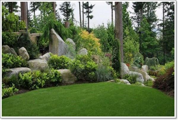 Sculptural boulder display