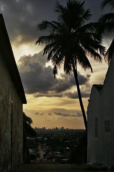 OLINDA. VIEW AT RECIFE. PERNAMBUCO.