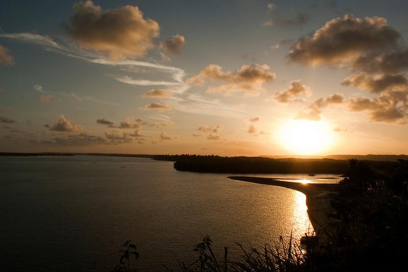 SUNSET AT 9 ILHAS. MACEIO. ALAGOAS. BRAZIL.