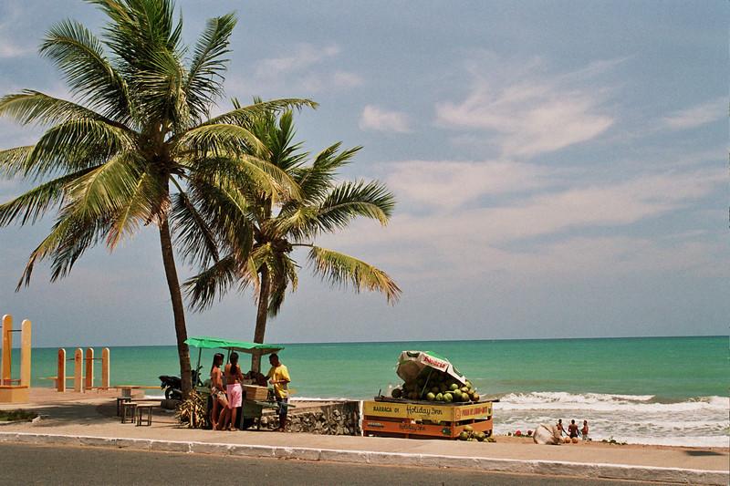 BEACH. MACEIO. ALAGOAS. BRAZIL.